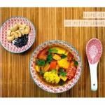 Soupe miso aux petits légumes (végan)