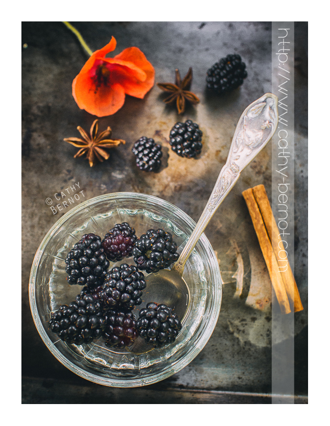 vinaigre de mûres : la recette