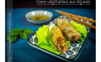 recette des nems végétariens
