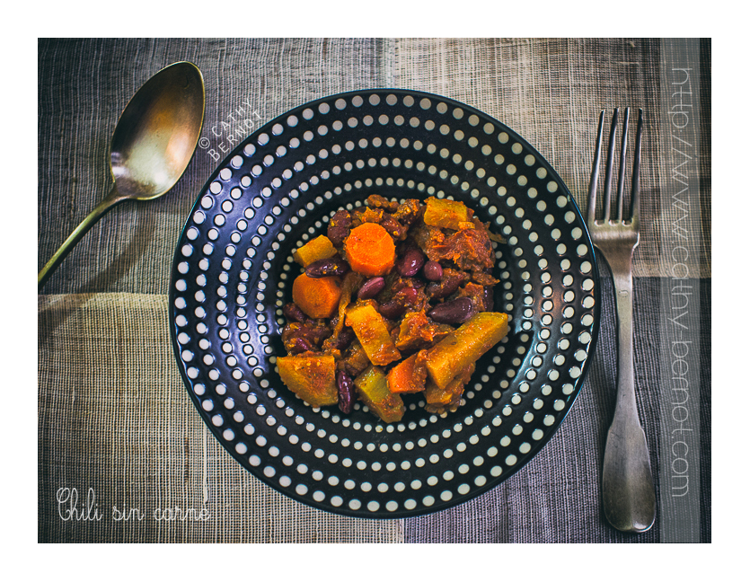 Chili végétarien (végane)