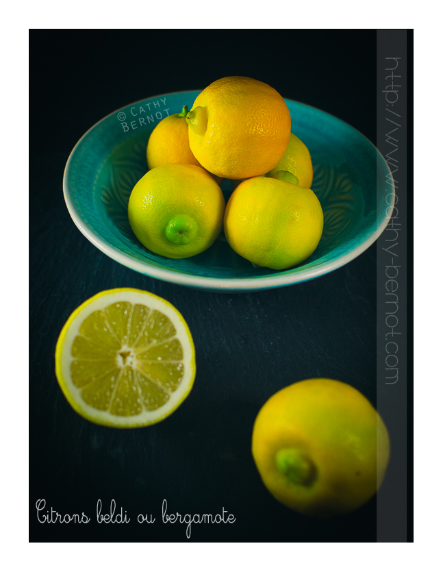 citron beldi ou citron bergamote