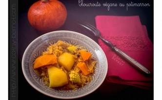 Choucroute végétarienne au potimarron