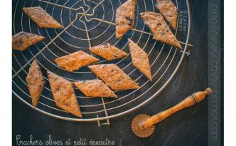 Biscuits apéro olives noires tomates séchées