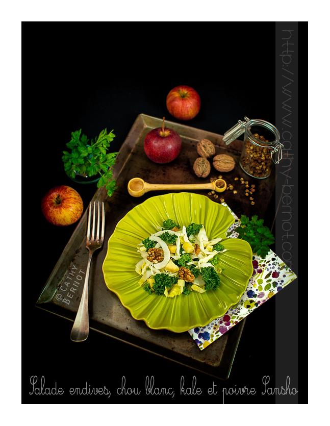 salade-endives-kale-poivre-sansho