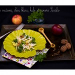 Salade endive chou kale et poivre sansho