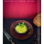 Terrine mouron, tomates séchées, échalotes