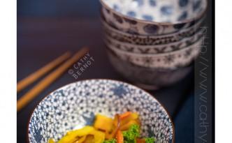 Wok mangue kale pamplemousse