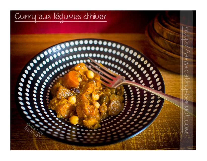 Curry végétarien panais et chou rave