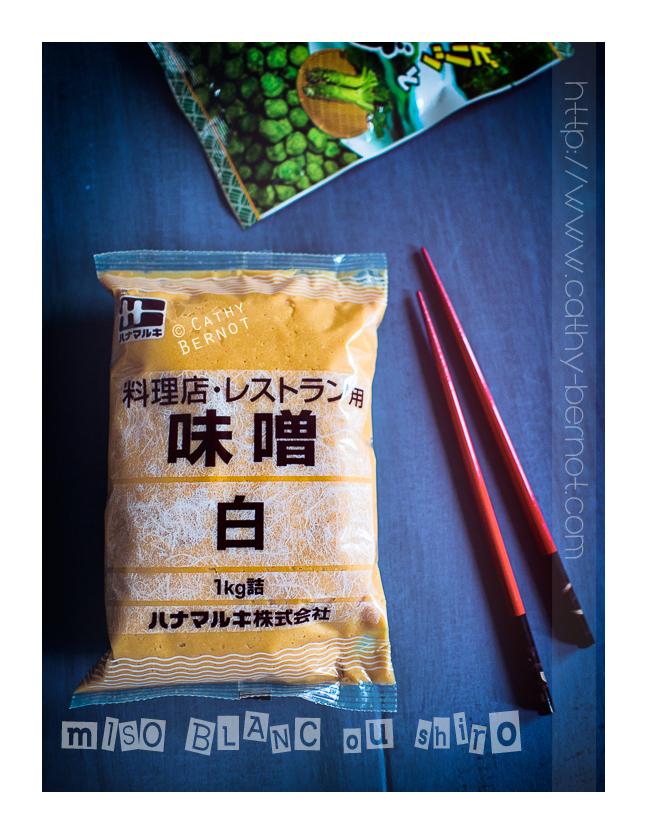 Pâte miso blanc - Shiro miso