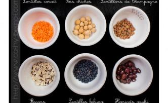 Légumineuses et cuisine végétarienne