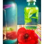 Detox water : eau aromatisée aux fruits