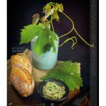 Tartinade aux vrilles et feuilles de vigne