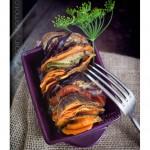 Tian provençal aux légumes d'été et protéines de soja