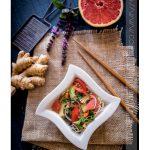 salade nouilles somen japonaises