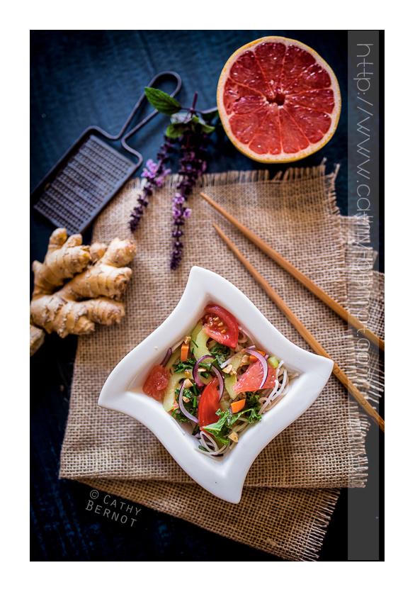 nouilles somen salade repas v g tarienne exotique. Black Bedroom Furniture Sets. Home Design Ideas