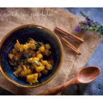 Salade de pois chiches et pommes de terre