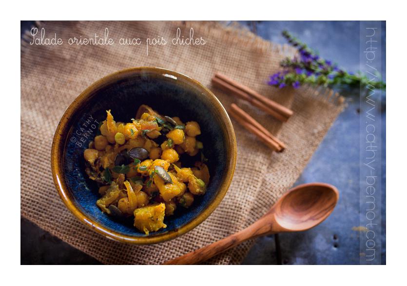 salade de pois chiches pommes de terre orientale