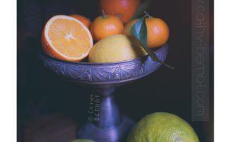 citron bergamote agrume