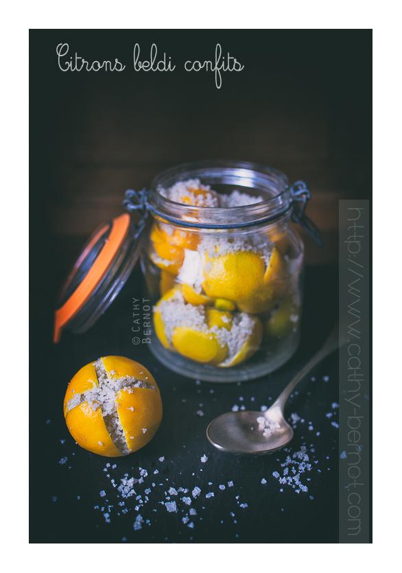 citron bergamote confit au sel