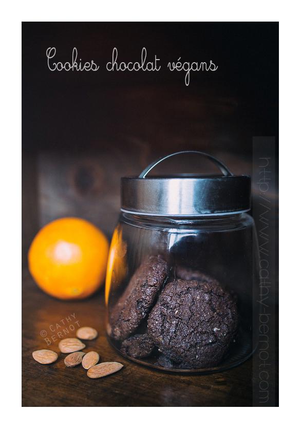 Cookies chocolat fève tonka végan