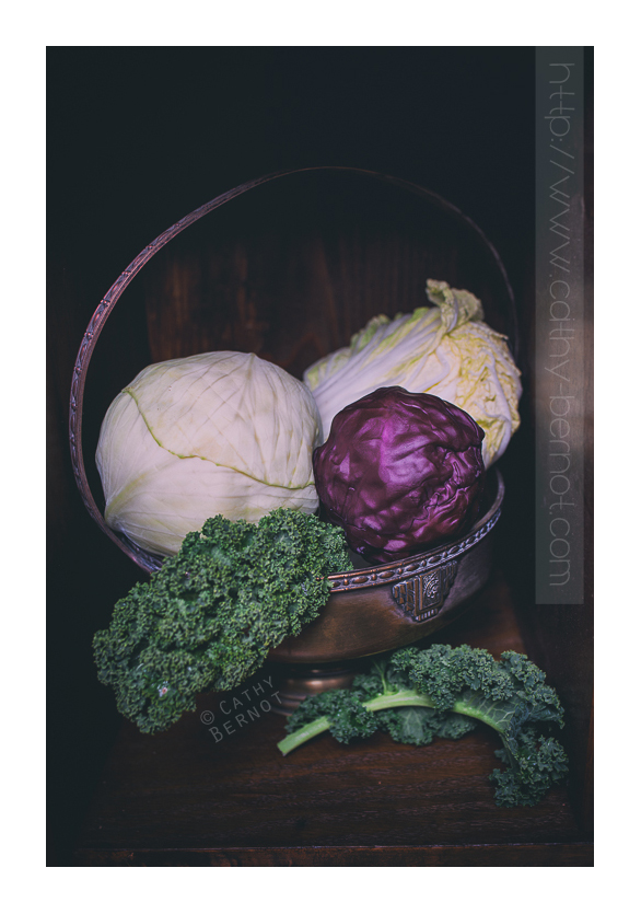 salade chou kale choux d'hiver