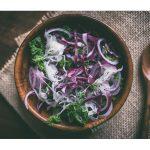 salade de choucroute crue et de choux
