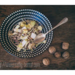 Salade choucroute crue endives nouilles soba