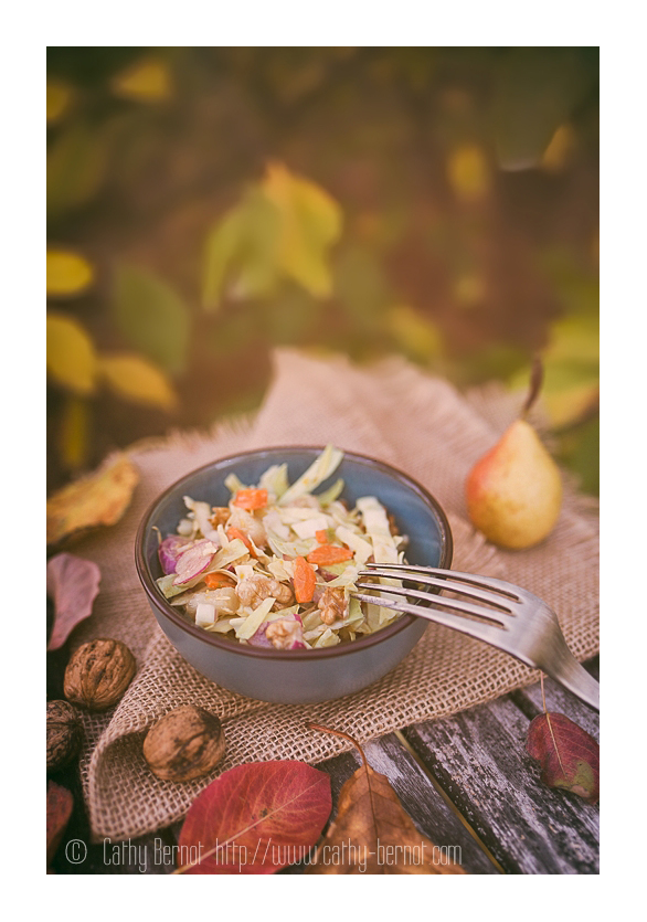 Salage healthy vegan d'automne