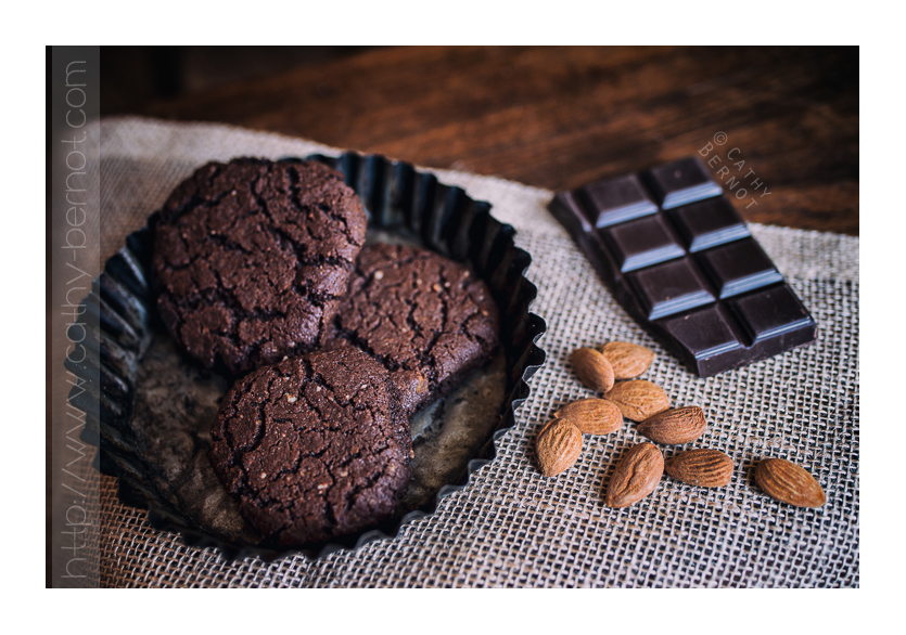 Cookies au chocolat amandes et f ve tonka v gans - Gateau vegan inratable ...